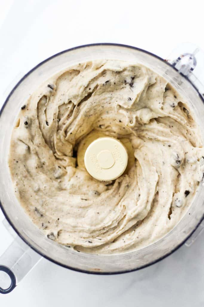 Cookies and Cream Banana Ice Cream