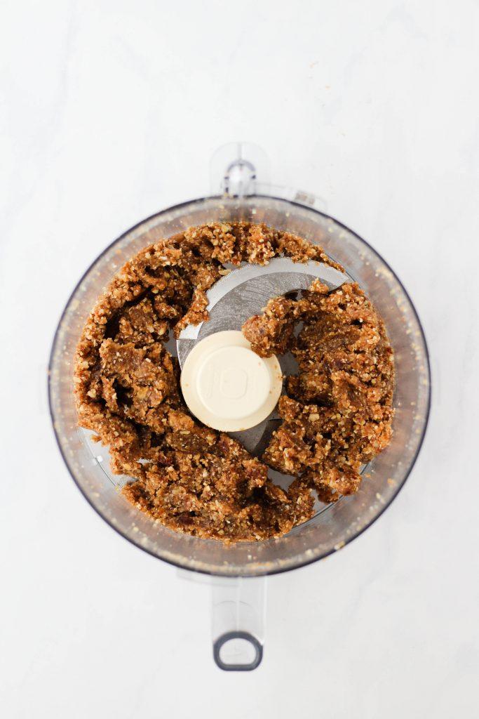 How to make salted caramel energy bites