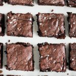 This is my favourite recipe for fudgy one-bowl brownies, because everyone needs and easy and delicious brownie recipe to rely on!