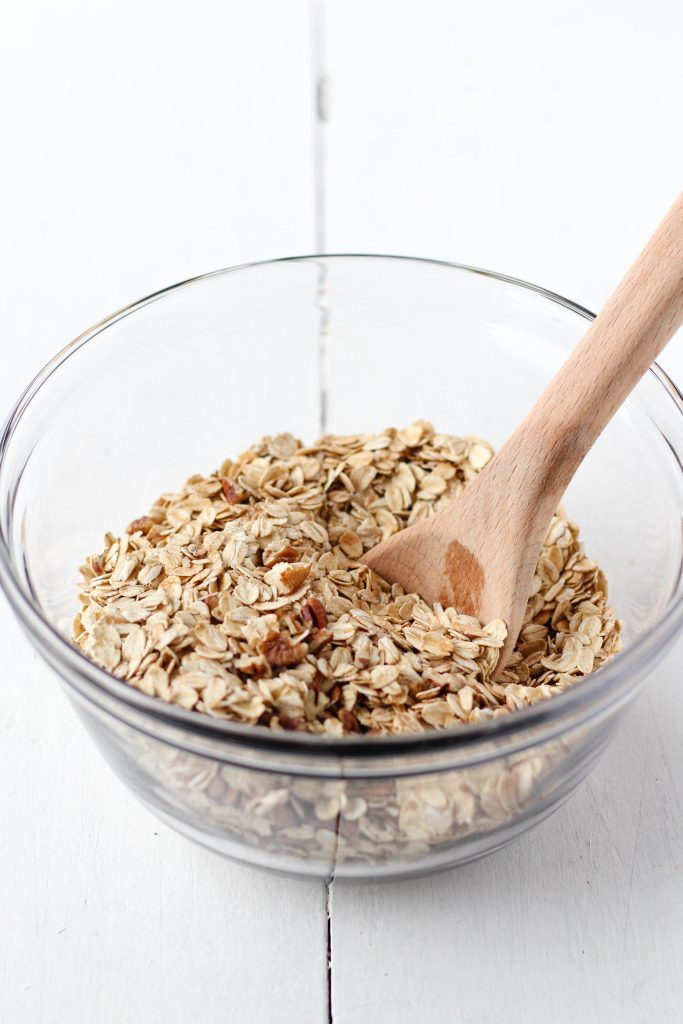 Dry Ingredients for Baked Oatmeal